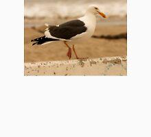 Walking Seagull Unisex T-Shirt