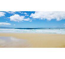 Pipeline, North Shore, Oahu, Hawaii Photographic Print