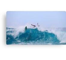 Fallen Surfer, Pipeline, North Shore, Oahu, Hawaii Canvas Print