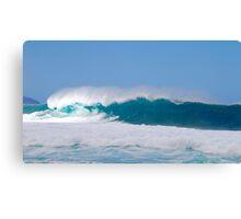 Waves, Pipeline, North Shore, Oahu, Hawaii Canvas Print