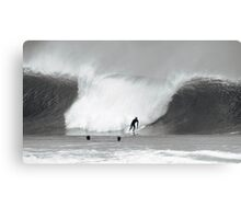 Surfer, Pipeline, North Shore, Oahu, Hawaii Canvas Print