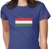 I Love  Hungary - Country Code HU T-Shirt & Sticker Womens Fitted T-Shirt