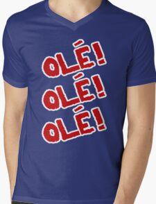 Sami Zayn - Ole! Ole! Ole! Mens V-Neck T-Shirt