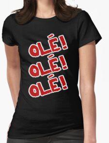 Sami Zayn - Ole! Ole! Ole! Womens Fitted T-Shirt