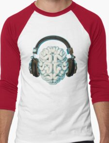 Mind Music Connection Men's Baseball ¾ T-Shirt