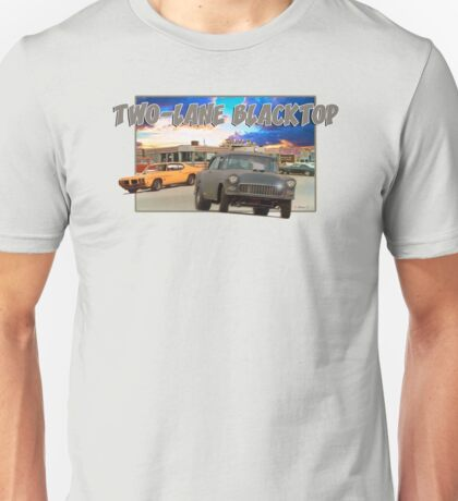 Two-Lane Blacktop Unisex T-Shirt