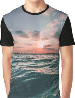 Ocean Sunrise Graphic T-Shirt