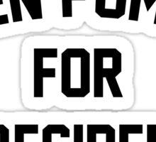 Ellen Pompeo for President Sticker