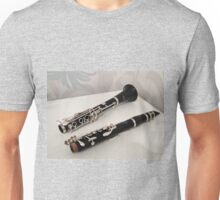 Clarinet in Two Parts Unisex T-Shirt