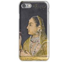 A portrait of Jahanara Begum, India, Mughal, 18th century iPhone Case/Skin