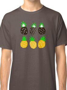 Black pineapple. Classic T-Shirt
