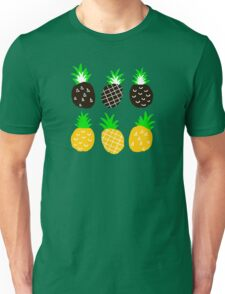 Black pineapple Unisex T-Shirt