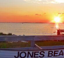 Jones Beach Sunset Sticker