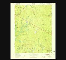 USGS TOPO Map New Jersey NJ Woodmansie 255012 1951 24000 Unisex T-Shirt