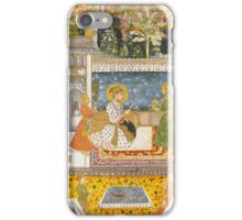 A portrait of Muhammad Shah, India, Deccan, early 18th century,  iPhone Case/Skin