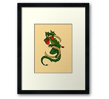 Oscar Letter S 2016 version Framed Print
