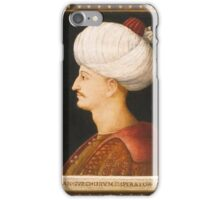 A PORTRAIT OF SULEYMAN THE MAGNIFICENT, BY A FOLLOWER OF GENTILE BELLINI, ITALY, PROBABLY VENICE, CIRCA  iPhone Case/Skin