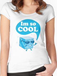 im so cool Women's Fitted Scoop T-Shirt