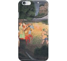 A prince and princess riding at night, India, Provincial Mughal, second half 18th century iPhone Case/Skin