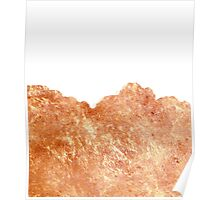 Rose Gold Rush #redbubble #lifestyle Poster