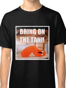 Hot Dog Man Tan Classic T-Shirt
