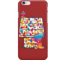 Snoopy and Woodstock Paint Color iPhone Case/Skin