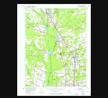 USGS TOPO Map New Jersey NJ Newfield 254625 1953 24000 Unisex T-Shirt