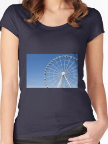 Seattle Great Wheel Women's Fitted Scoop T-Shirt