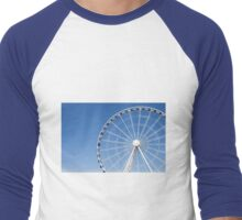 Seattle Great Wheel Men's Baseball ¾ T-Shirt