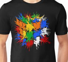 Rubik's Cube Explosion  Unisex T-Shirt