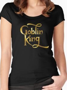 Goblin King Women's Fitted Scoop T-Shirt