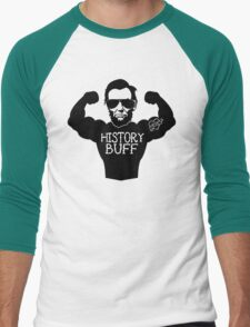 Funny History Buff Men's Baseball ¾ T-Shirt