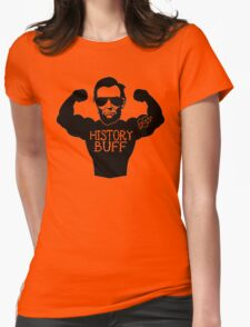 Funny History Buff Womens Fitted T-Shirt