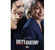 Grey's Anatomy Season 10 Poster Photographic Print