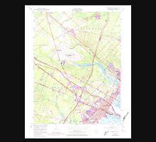 USGS TOPO Map New Jersey NJ Pleasantville 254758 1952 24000 Unisex T-Shirt