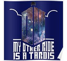 Doctor Who My Other Ride Poster