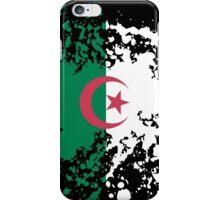 Algeria Flag Ink Splatter iPhone Case/Skin