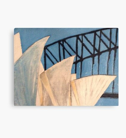 The Sydney Opera House  Canvas Print