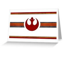 Rebel Alliance Banner Greeting Card