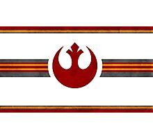 Rebel Alliance Banner Photographic Print