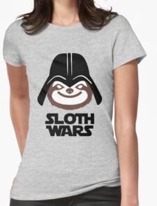 Sloth War Womens Fitted T-Shirt