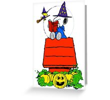 Snoopy Magic Potions Greeting Card