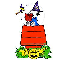 Snoopy Magic Potions Photographic Print