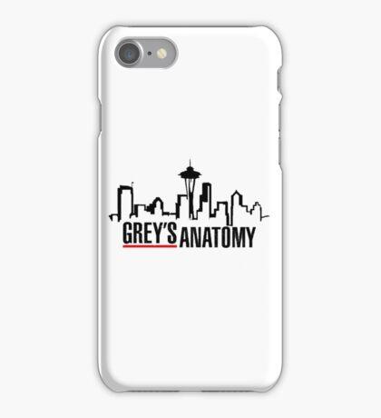 GREYS ANATOMY MERCH iPhone Case/Skin