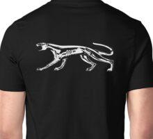 white cougar Unisex T-Shirt