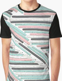 Cute doodle pencils pattern Graphic T-Shirt