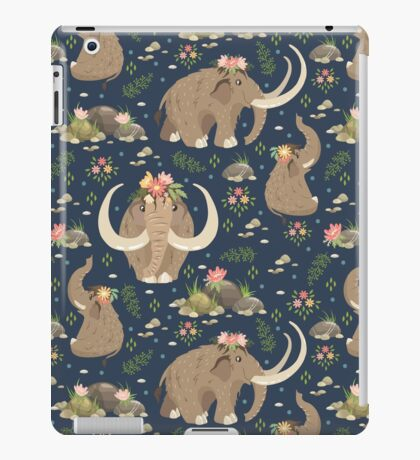 Cute mammoths iPad Case/Skin