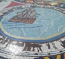 Donkin Reserve Mosaic by Shaun Swanepoel