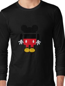 Android Mickey Long Sleeve T-Shirt