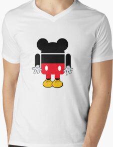 Android Mickey Mens V-Neck T-Shirt